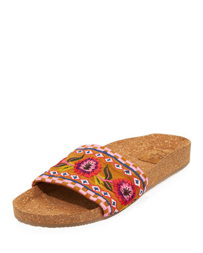 Noona Cork Slide Sandals