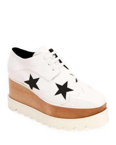 Elyse Creeper Star Platform Sneakers