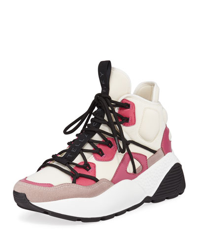 High-Top Platform Trainer Sneakers