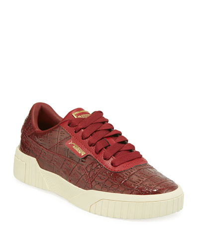 27902b18f88a0b Cali Holiday Croc-Embossed Patent Sneakers Quick Look. Puma