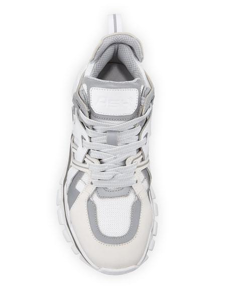 Flash Mixed-Media Running Sneakers