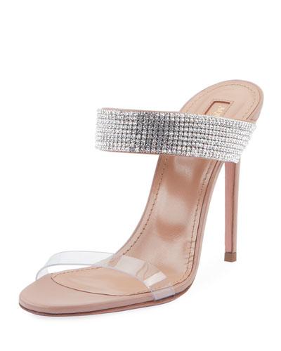 Spritz 105 Plexy Mule Sandals