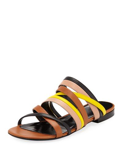 Alpha Multi-Strap Flat Sandals