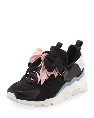 Trek Chunky Bow Sneakers