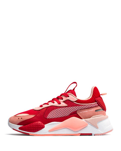 RS-X Colorblock Sneakers, Red