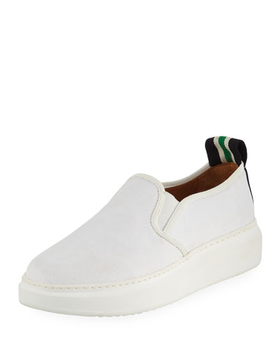Westley Canvas Slip-On Sneakers