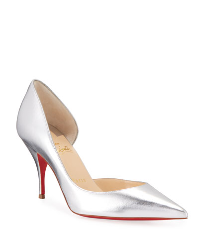 02147f4c413 Iriclare Metallic Half-d Orsay Pumps Quick Look. Christian Louboutin