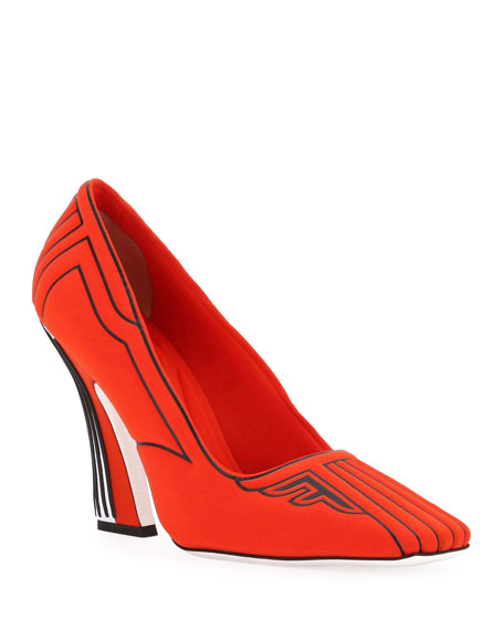Freedom Fabric High-Heel Pumps