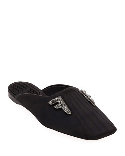 Freedom Fabric Flat Mules