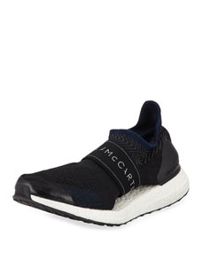 Ultra Boost X 3 D Sneakers, Black by Adidas By Stella Mc Cartney
