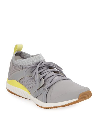 Crazy Train Pro Lace-Up Sneakers, Gray