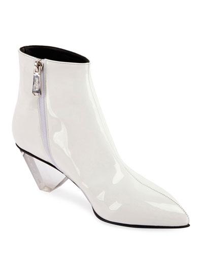 Lottie Shiny Zip Boots