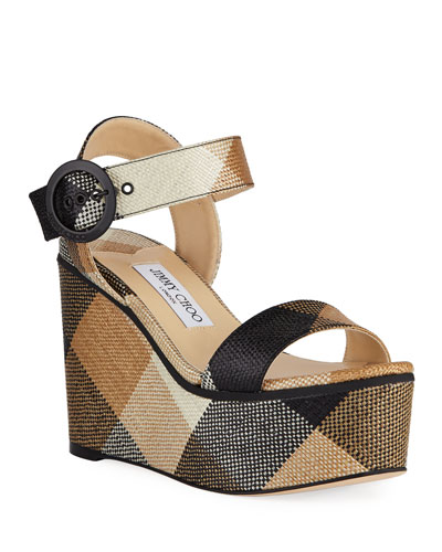 Abigail Wedge Platform Sandals