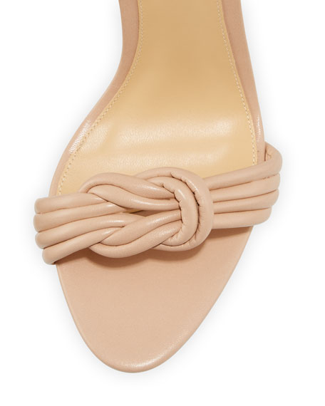 Vicky Vinyl/Leather Sandals