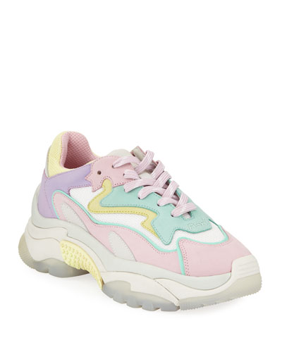 Addict Pastel Suede Sneakers