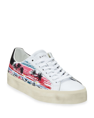 Hill Double Printed Sneakers