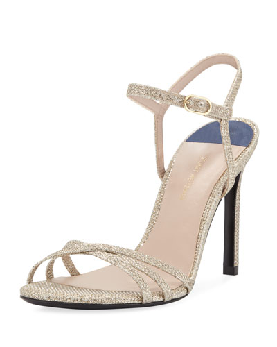 Starla High-Heel Glittered Sandals