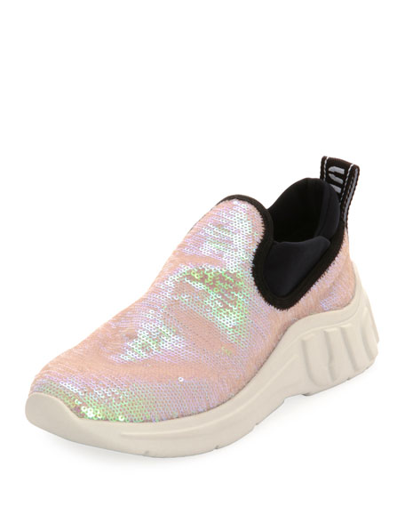 Sneakers Paillettes Slip On Slip On Sneakers Chunky Paillettes Chunky mN0wOv8n