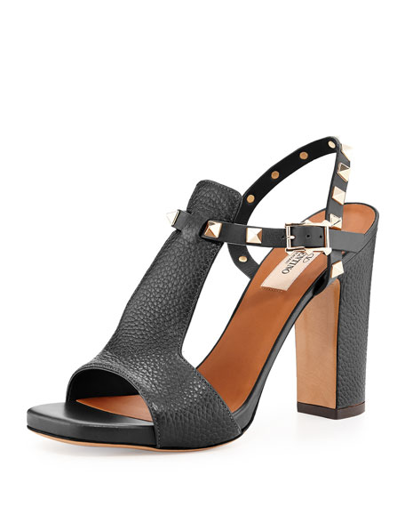 ae8c5c4202ea Valentino Garavani Rockstud T-Strap 90mm Sandals