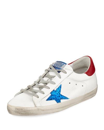 754f9c0599a Superstar Glitter Low-Top Sneakers Quick Look. Golden Goose
