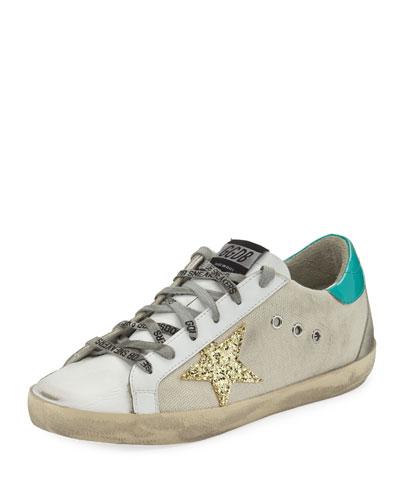 Superstar Mixed Low-Top Sneakers
