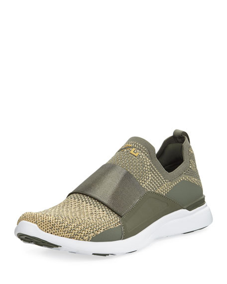 11cbbd43f22 APL  Athletic Propulsion Labs Techloom Bliss Metallic Knit Slip-On Running  Sneakers