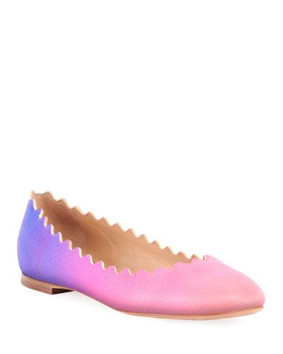 Lauren Ombre Ballet Flats
