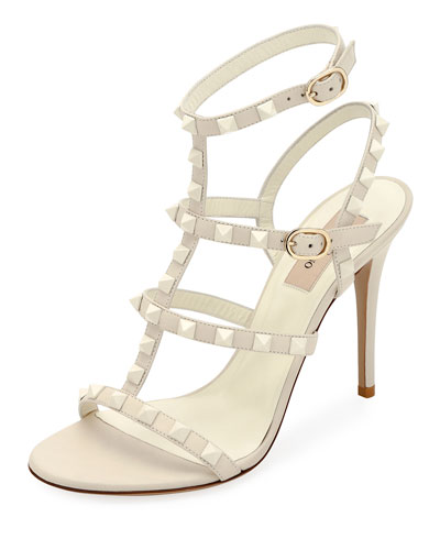 Rockstud High Strappy Sandals