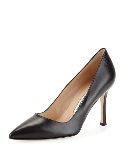BB Leather 90mm Pumps