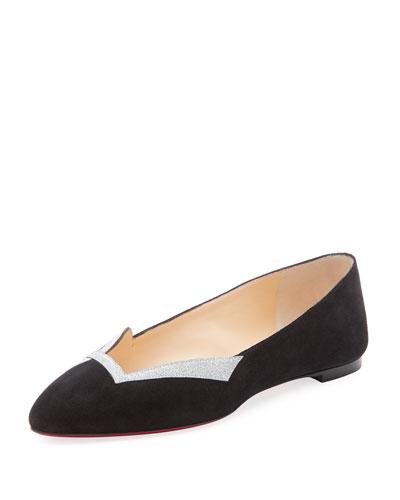 9747d549e294 Christian Louboutin Love Red Sole Ballet Flats
