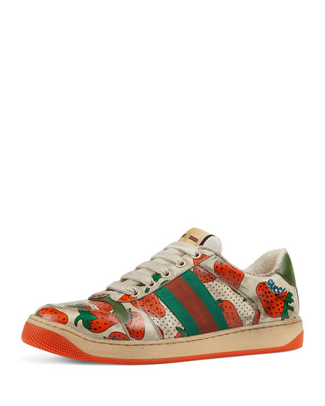 Screener Dirty Strawberry Lace-Up Sneakers