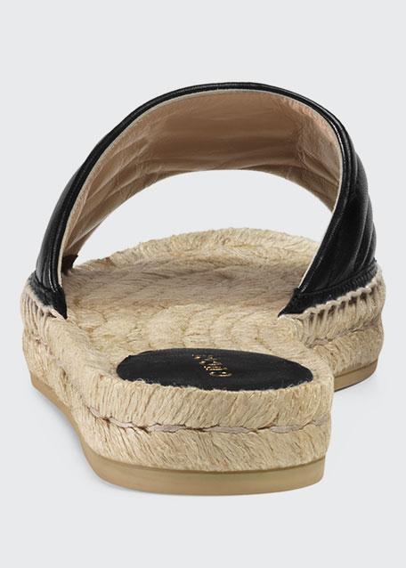 Pilar Espadrille Slide Sandals
