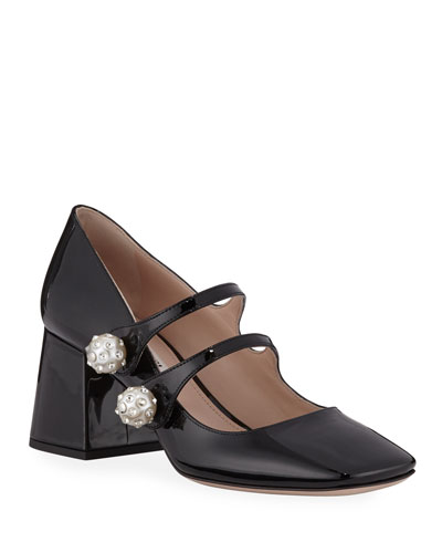 b5a3acfd685 Miu Miu Women s Shoes   Pumps   Sandals at Bergdorf Goodman