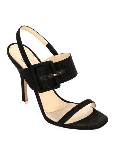 Mariah Fabric Buckle Sandals