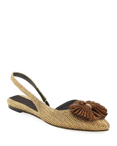 Capella Embellished Slingback Sandals