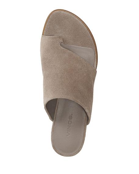 Darla Suede Wedge Sandals