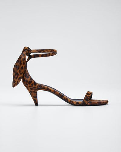 Charlotte Calf Hair Sandals