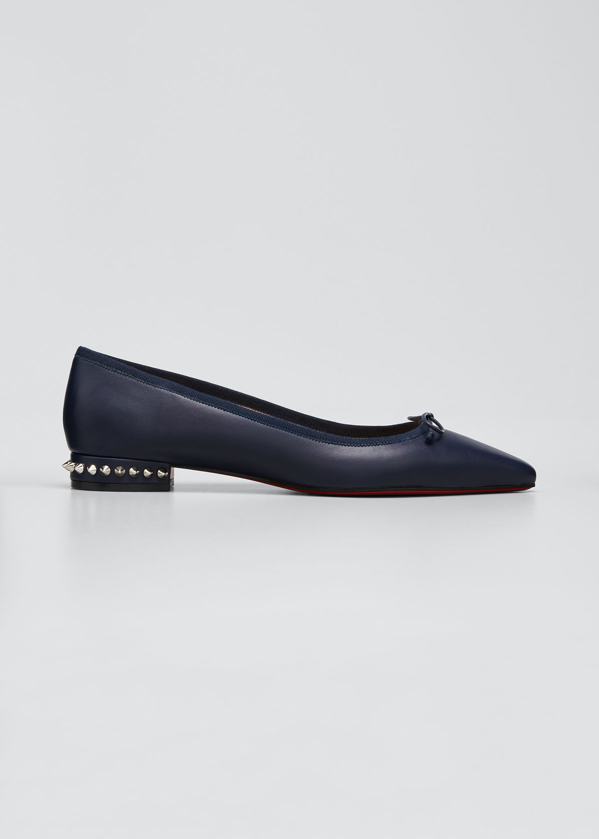 Hall Red Sole Ballet Flats by Christian Louboutin