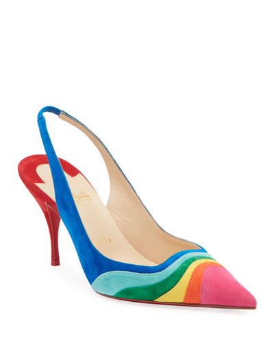 977a0f1f8c4 Degradama Suede Red Sole Pumps Quick Look. Christian Louboutin