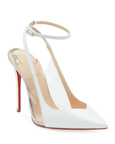 df54d3f47461 Optichoc Leather PVC Red Sole Pumps Quick Look. Christian Louboutin