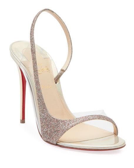 Optisling Glitter Red Sole Sandals