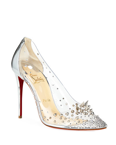 27eb08411fb8 Grotika Spiked Red Sole Pumps Quick Look. Christian Louboutin