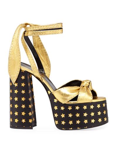 1c8ab23bdd3bc Saint Laurent Collection   Chelsea Boots   Bow Sandals at Neiman Marcus