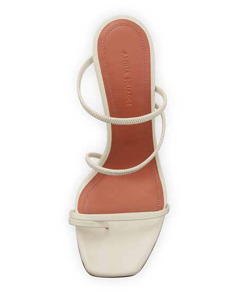 Naima Leather Slide Sandals