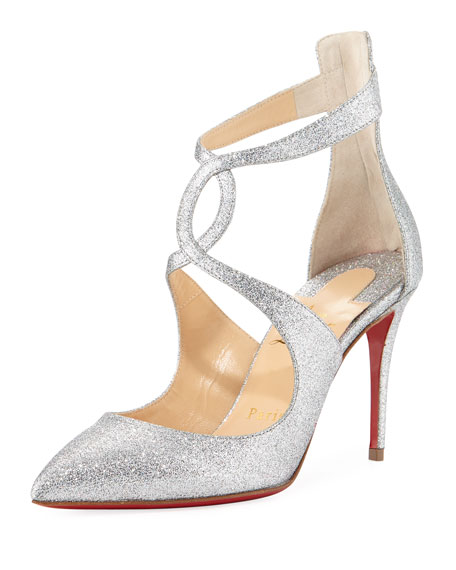 on sale 298fd bbb7f Rosas 85mm Red Sole Pumps