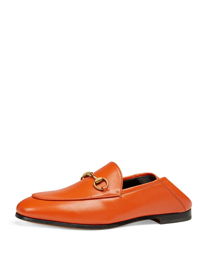 Brixton Leather Horsebit Loafers