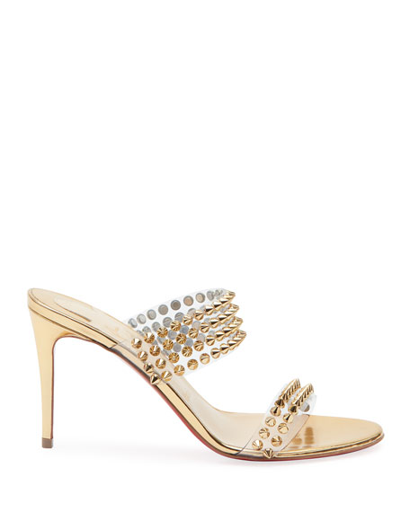 Spikes Only Studded Red Sole Mules