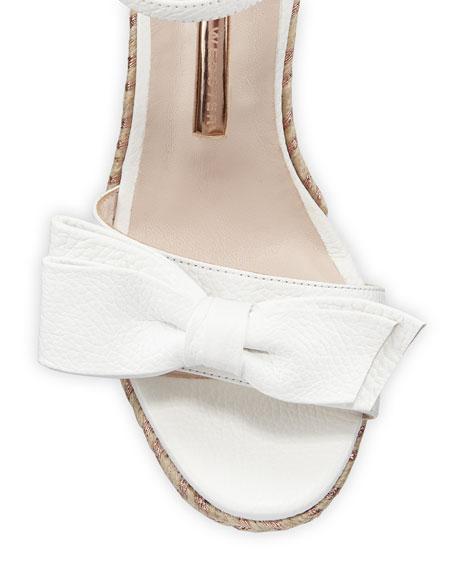 Bonnie Mid-Wedge Bow Espadrilles