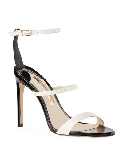 Rosalind Bicolored Leather Sandals