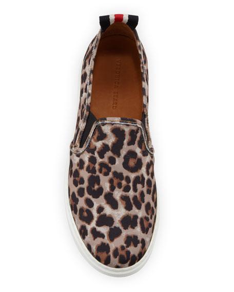 Westley Leopard Slip-On Sneakers
